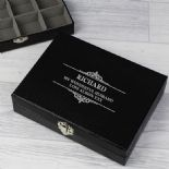 Cufflink  Box, PERSONALISED ref CFLB